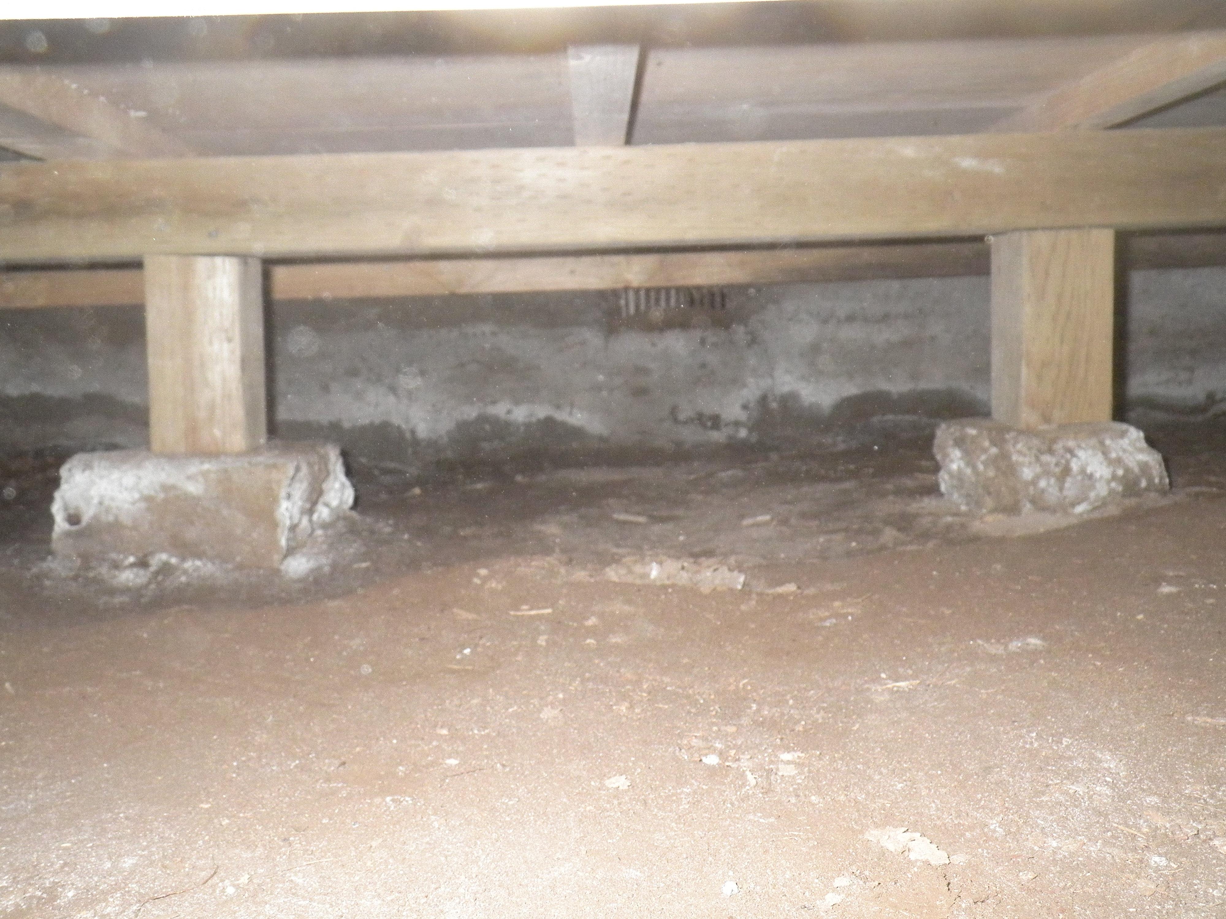 基礎コンクリートの補強工事
