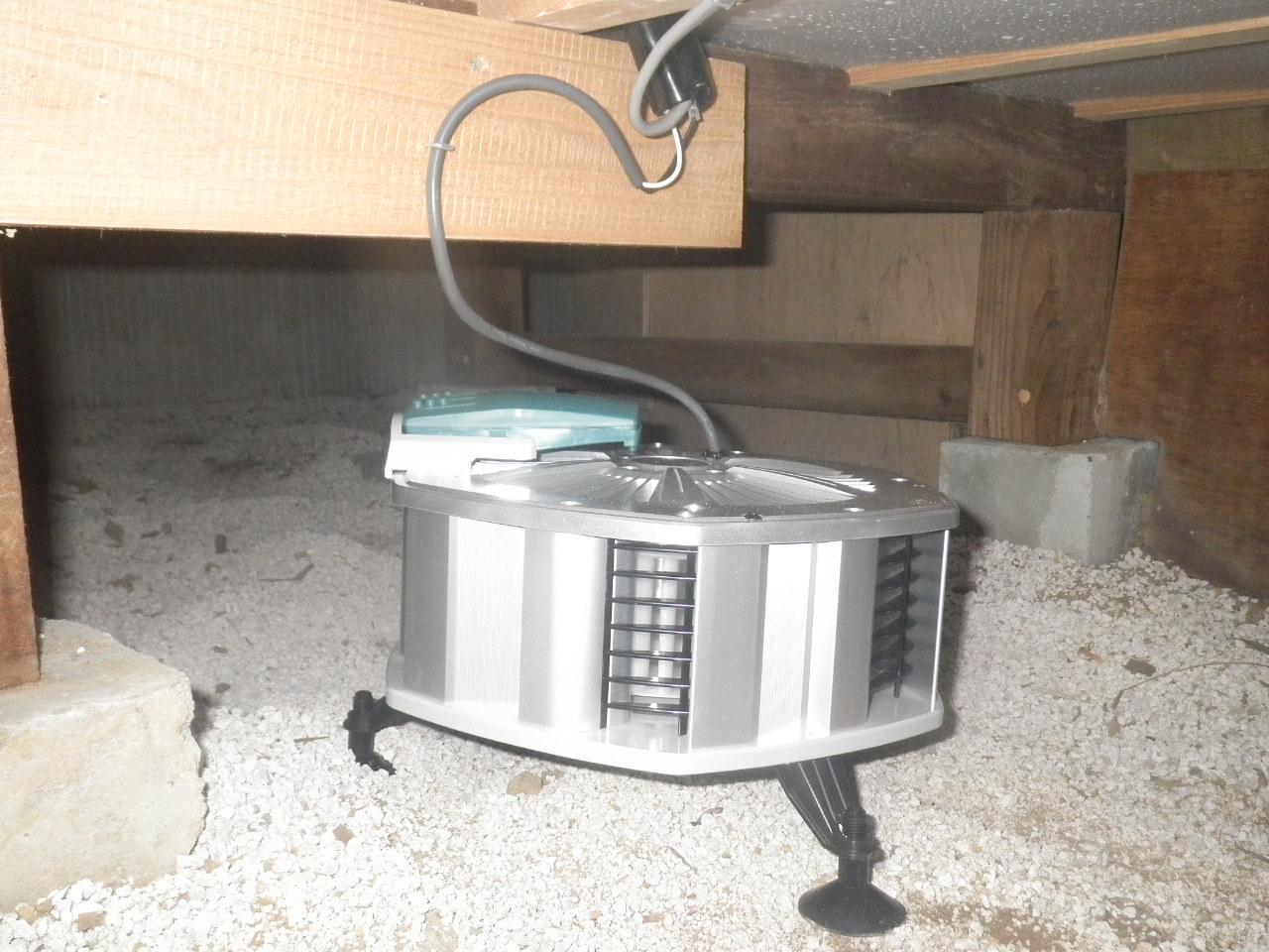 攪拌型換気扇