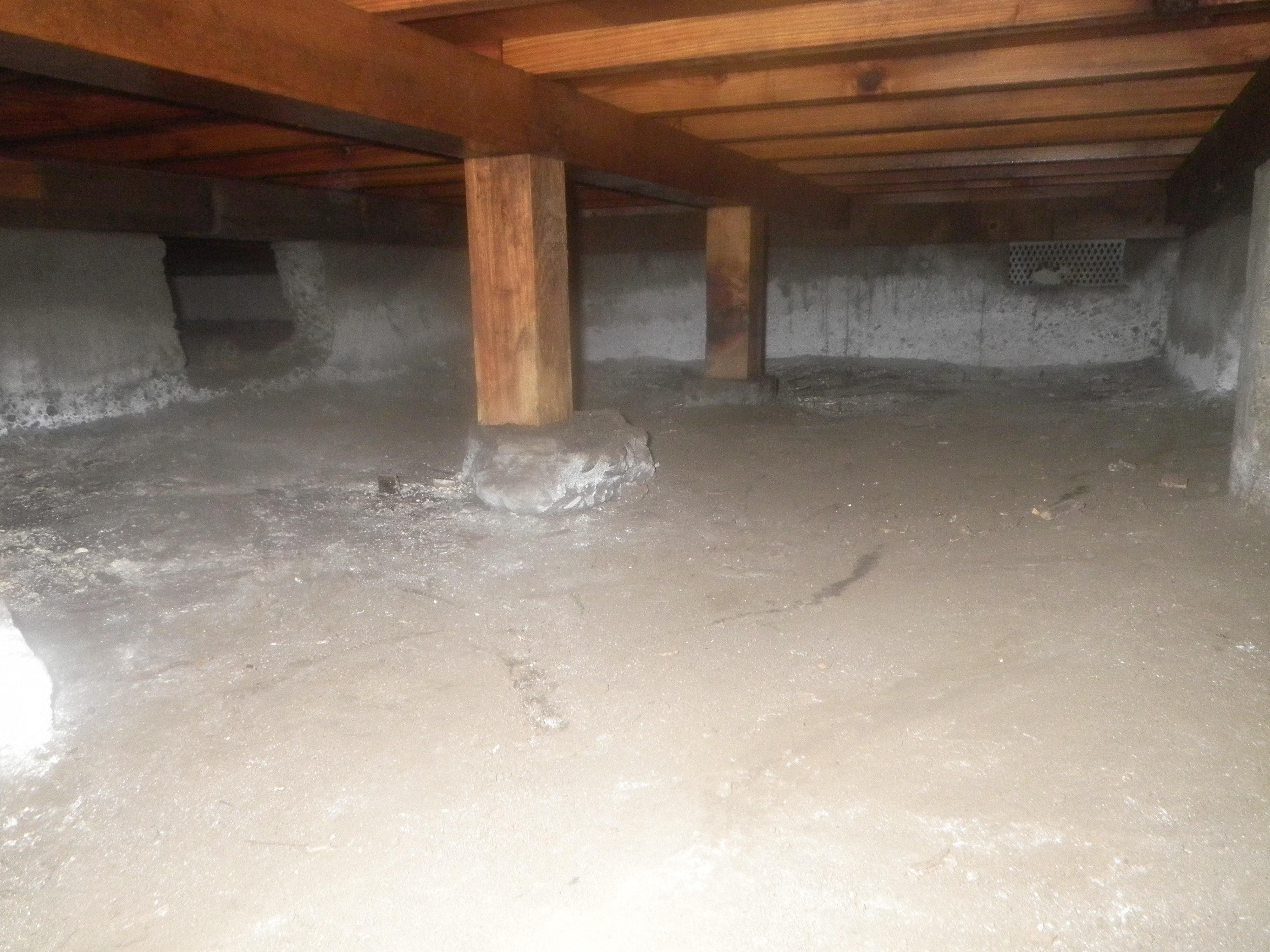 床下の湿気