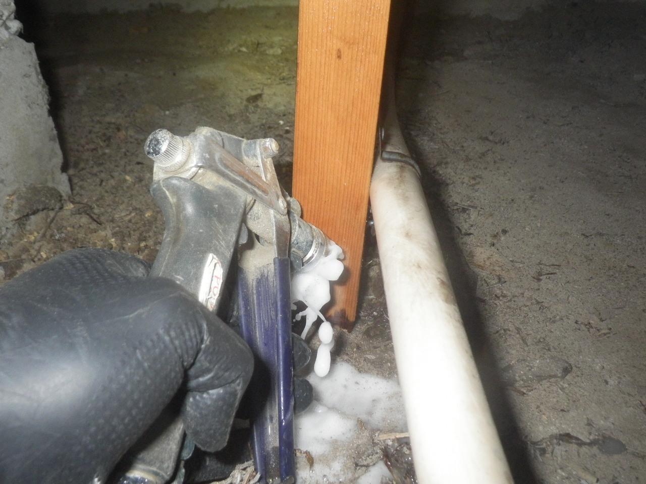 補助柱穿孔注入処理