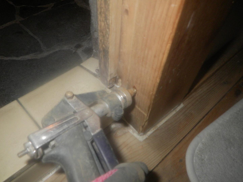お風呂場ドア枠