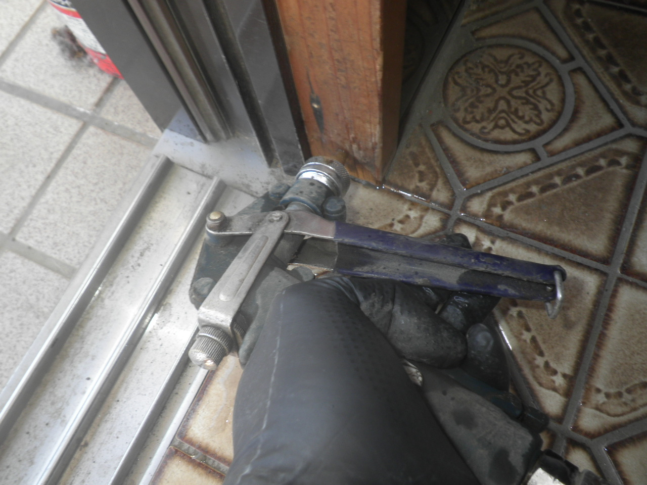 玄関ドア枠